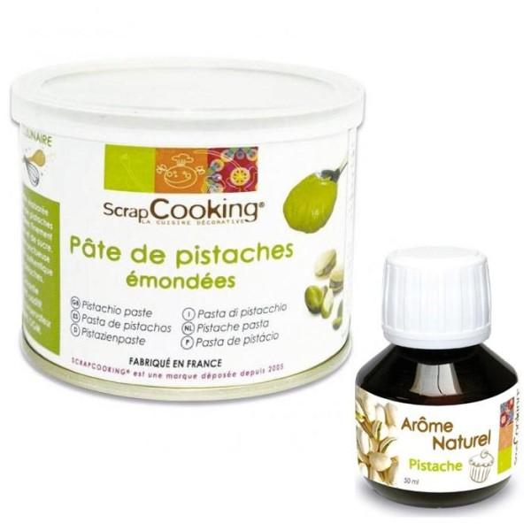 Pâte de pistache + arôme pistache - Photo n°1
