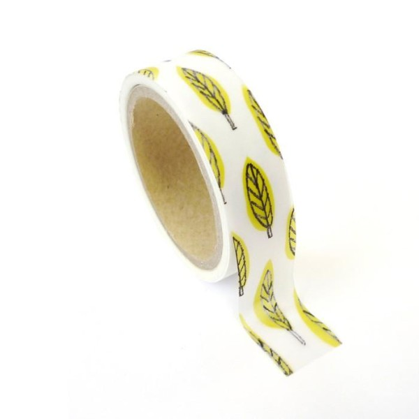 Masking tape feuille métallisée 1,5 cm x 10 m - Photo n°1