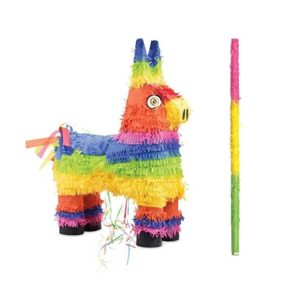 Piñata Âne + bâton - Photo n°1