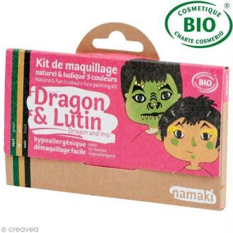 Kit de maquillage bio Dragon et lutin - 3 couleurs