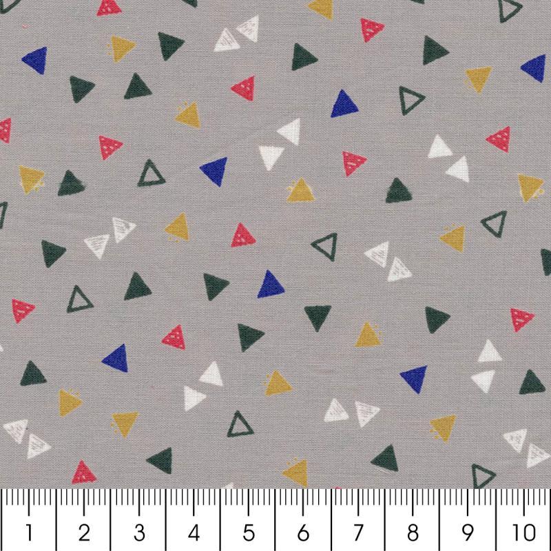 Tissu Atelier Brunette Overnight - Candy Flakes - Par 10 cm (sur mesure) - Photo n°2
