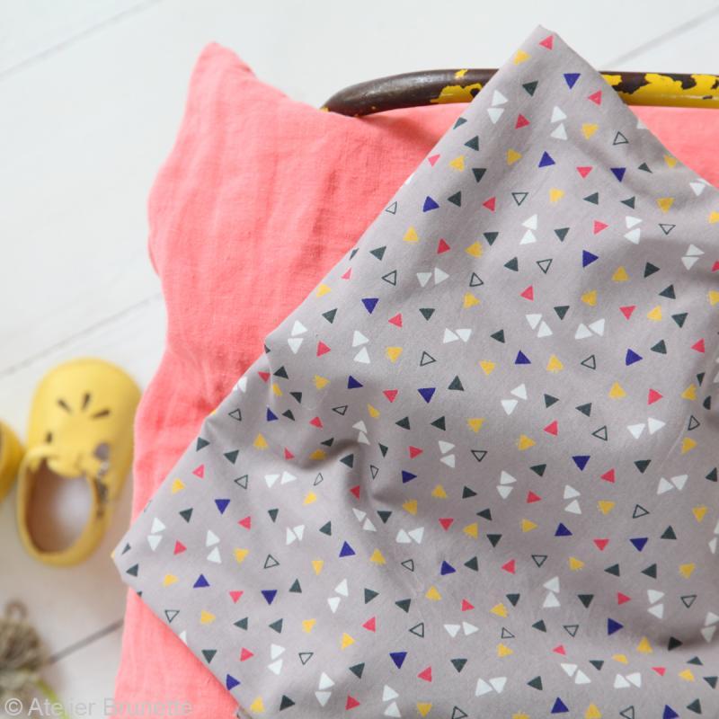 Tissu Atelier Brunette Overnight - Candy Flakes - Par 10 cm (sur mesure) - Photo n°3
