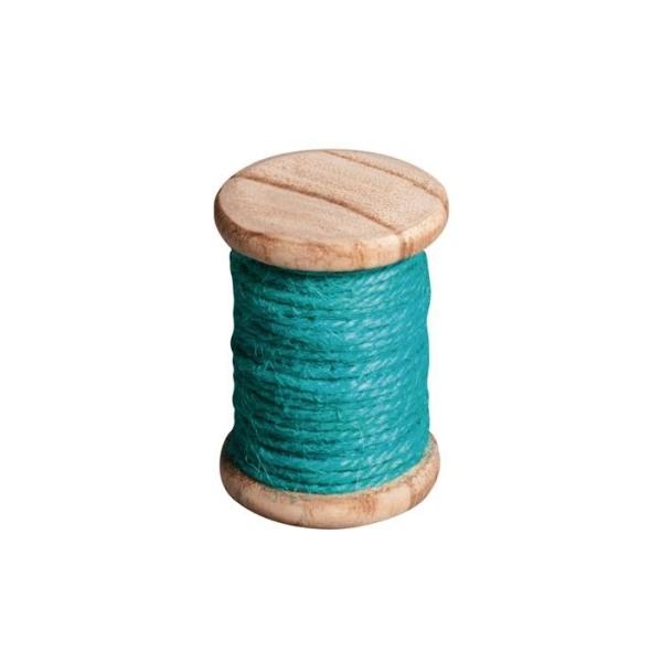 Ficelle 5 m - bleu turquoise - Photo n°1