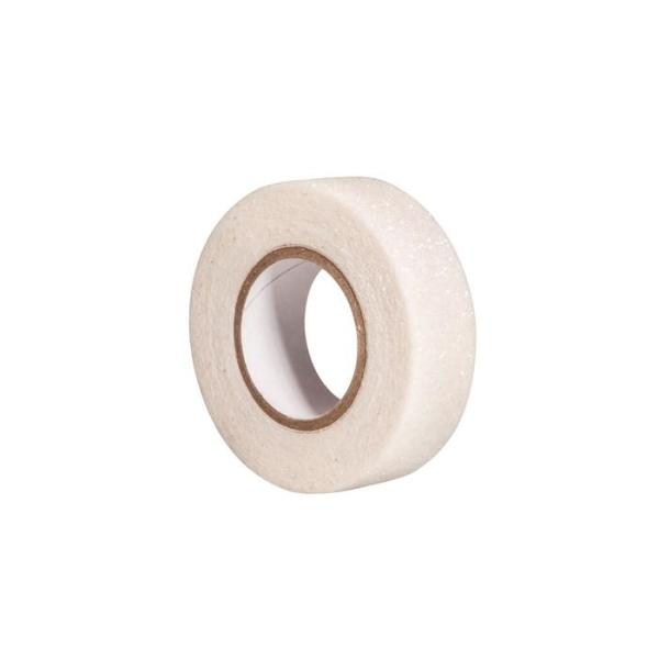 Glitter tape 5 m x 1,5 cm - blanc - Photo n°2
