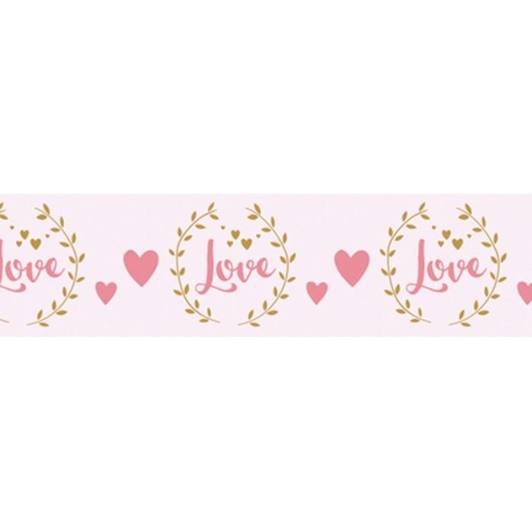 Washi Tape Love sur fond blanc - 15 m x 3 cm - Photo n°2