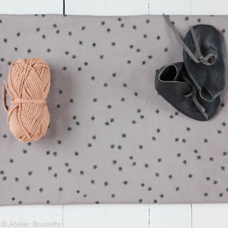 Tissu Atelier Brunette Overnight - Remember me - Par 10 cm (sur mesure) - Photo n°3