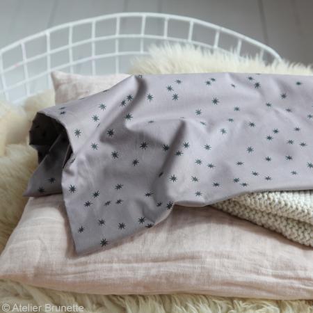 Tissu Atelier Brunette Overnight - Remember me - Par 10 cm (sur mesure) - Photo n°5