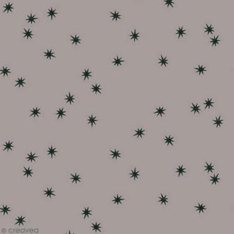 Tissu Atelier Brunette Overnight - Remember me - Par 10 cm (sur mesure)