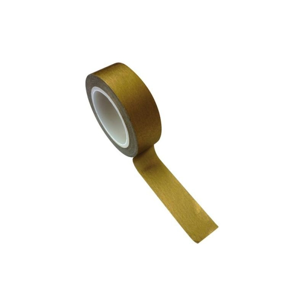 Masking tape 1,5 cm x 10 m - doré - Photo n°2