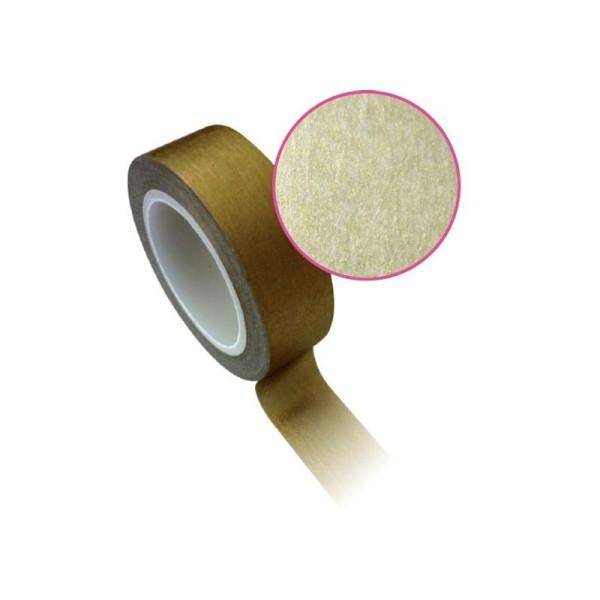 Masking tape 1,5 cm x 10 m - doré - Photo n°1