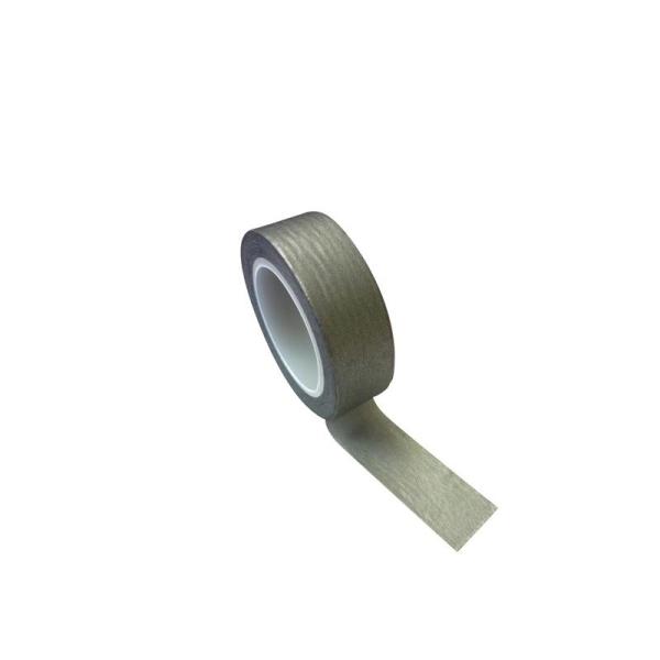 Masking tape 1,5 cm x 10 m - argenté - Photo n°1