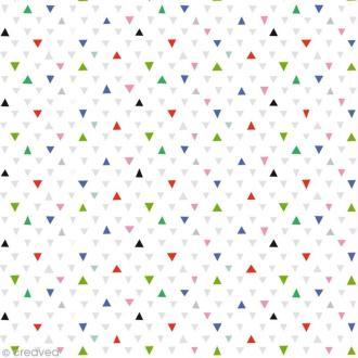 Tissu Atelier Brunette Fifi Mandirac - Cui-cui - Par 10 cm (sur mesure)