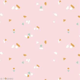 Tissu Atelier Brunette Bloom - Abstract - Par 10 cm (sur mesure)