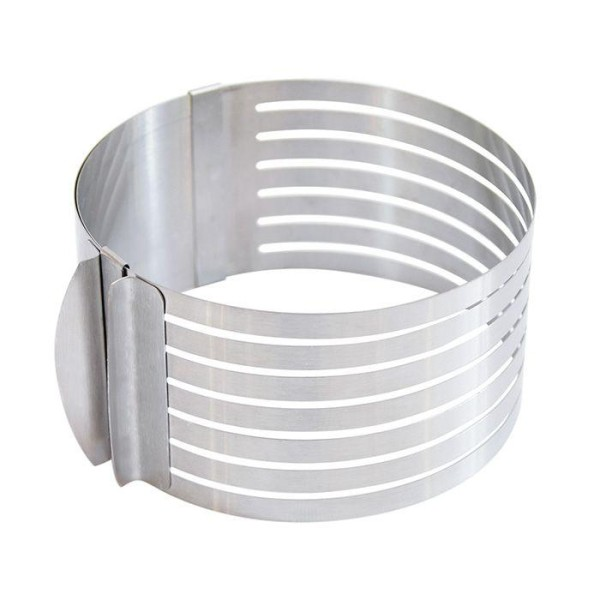 Cercle extensible en inox pour génoise - 16 à 20 cm - Photo n°3