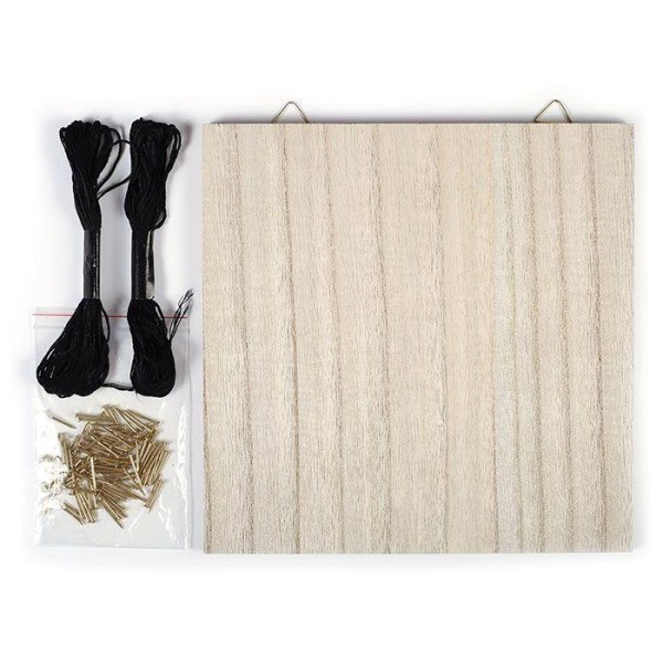 coffret string art tableau art filaire faire soi m me. Black Bedroom Furniture Sets. Home Design Ideas