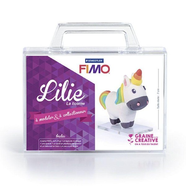 Coffret FIMO Ma première figurine - Lilie la licorne - Photo n°2