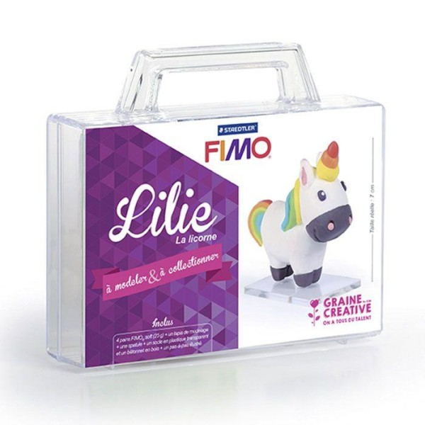 Coffret FIMO Ma première figurine - Lilie la licorne - Photo n°1