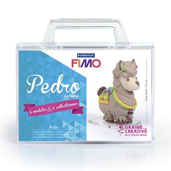 Coffret FIMO Ma première figurine - Pedro le lama - Photo n°2
