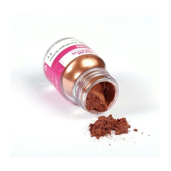 Poudre effet métallique bronze pour pâte FIMO - 8 g - Photo n°3