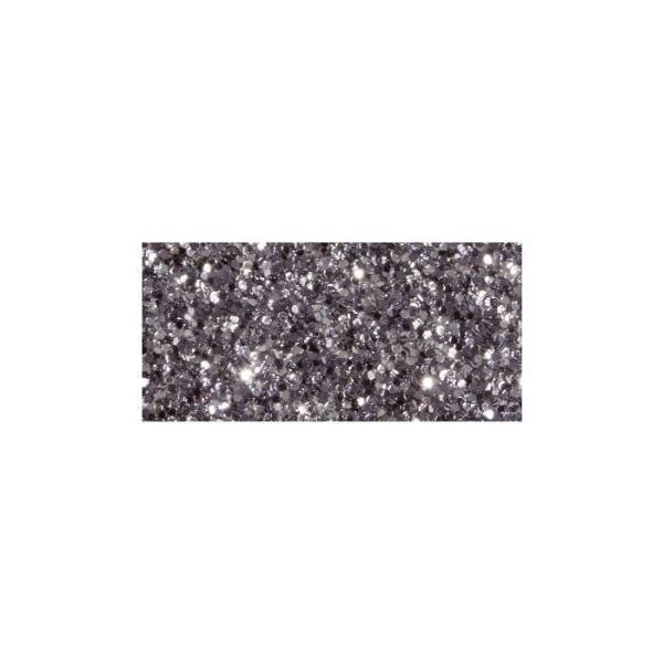 Masking tape à paillettes 5 m x 15 mm - gris foncé - Photo n°1