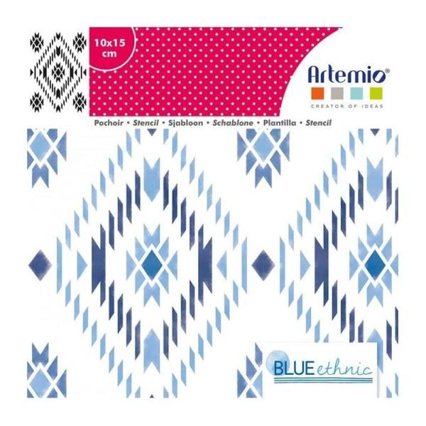 Pochoir motif Navajo - 10 x 15 cm - Photo n°2