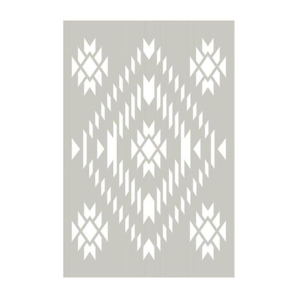 Pochoir motif Navajo - 10 x 15 cm - Photo n°1