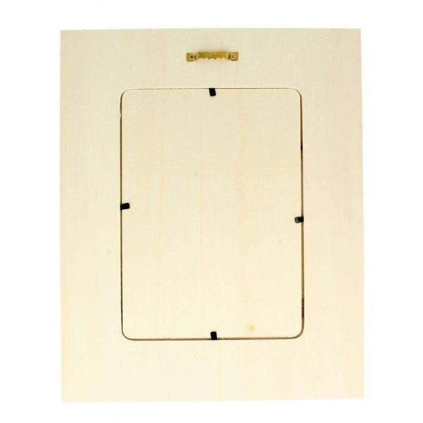 Cadre à photo bois 22 x 27 cm - Fenêtre - Photo n°2