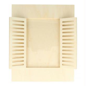 Cadre à photo bois 22 x 27 cm - Fenêtre
