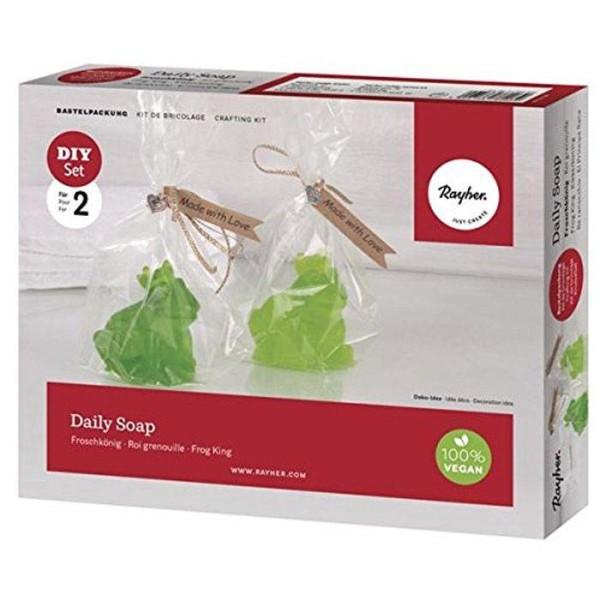 Coffret savon DIY à faire soi-même - Roi grenouille - Photo n°1