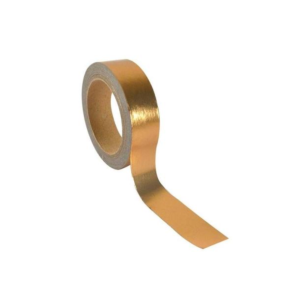 Ruban adhésif aluminium 5 m x 1,5 cm - cuivré - Photo n°1