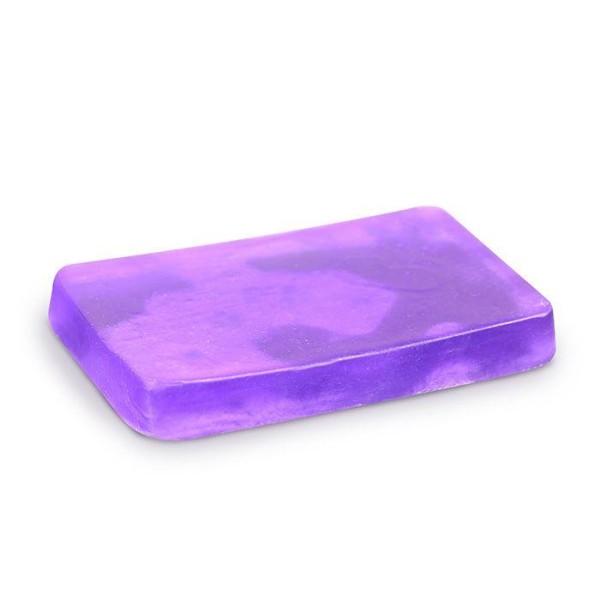 Savon à mouler 100 g - Translucide violet - Photo n°1