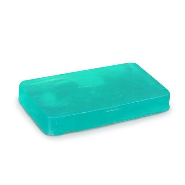 Savon à mouler 100 g - Translucide vert - Photo n°1