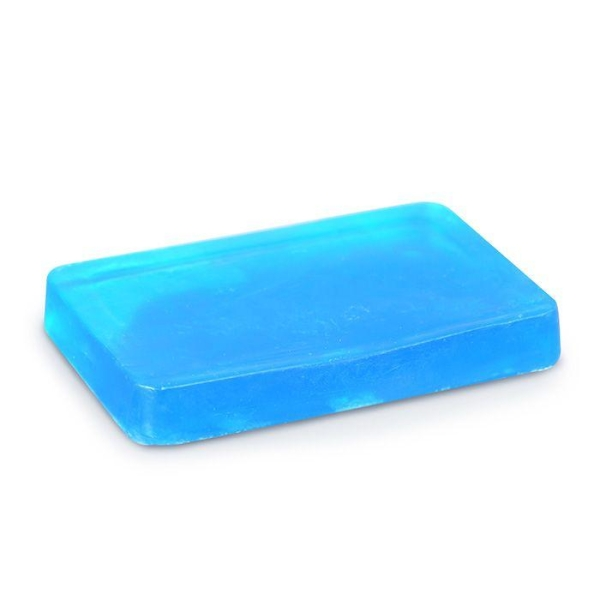 Savon à mouler 100 g - Translucide bleu - Photo n°1