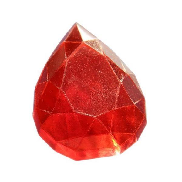 Mini moule à savon - Diamant goutte - Photo n°1