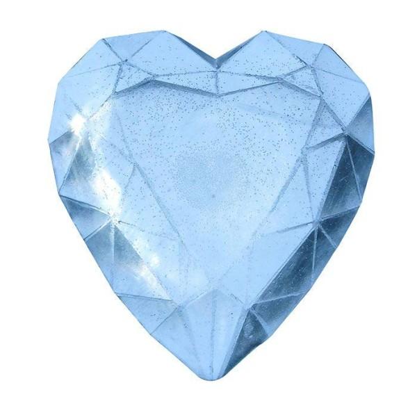 Mini moule à savon - Diamant coeur - Photo n°1
