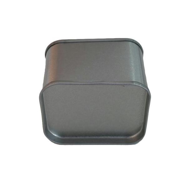 Petite boîte métallique rectangulaire 6 x 5 x 4 cm - Photo n°2