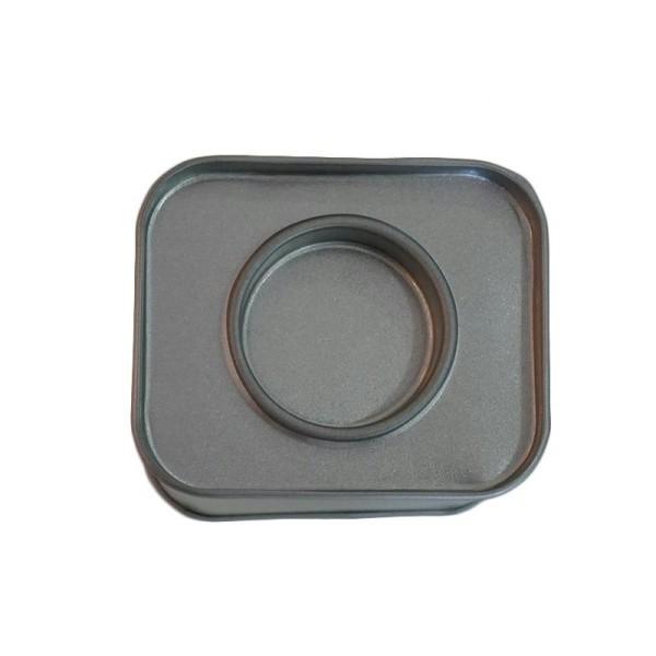 Petite boîte métallique rectangulaire 6 x 5 x 4 cm - Photo n°3