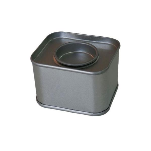 Petite boîte métallique rectangulaire 6 x 5 x 4 cm - Photo n°1
