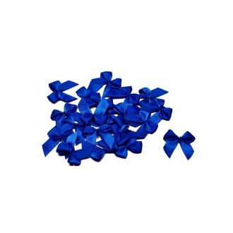 Sachet de 20 nœuds en satin de belle qualite bleu roi 352