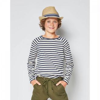 Patron tee-shirt enfant manches raglan, Burda 9346
