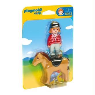 PLAYMOBIL 6973 Cavaliere avec cheval