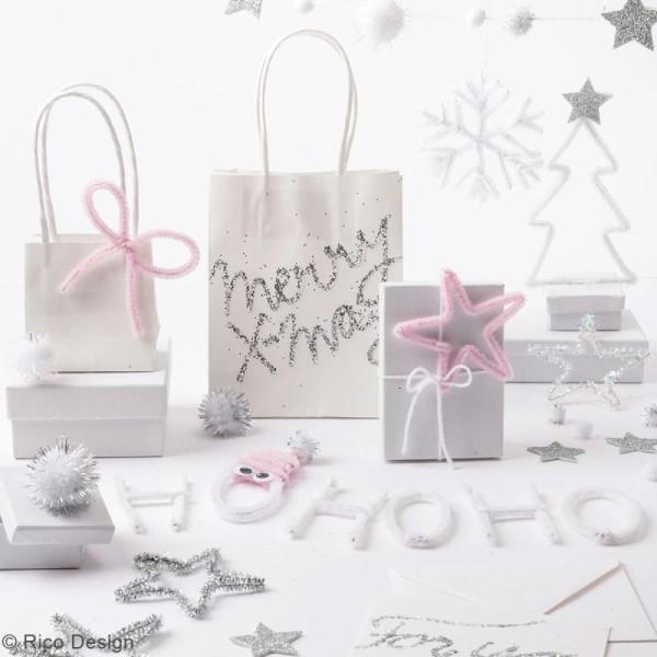 Set de bricolage de Noël Rico Design - Blanc - 160 pcs - Photo n°2