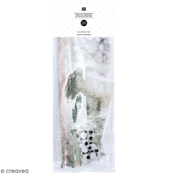 Set de bricolage de Noël Rico Design - Blanc - 160 pcs - Photo n°1