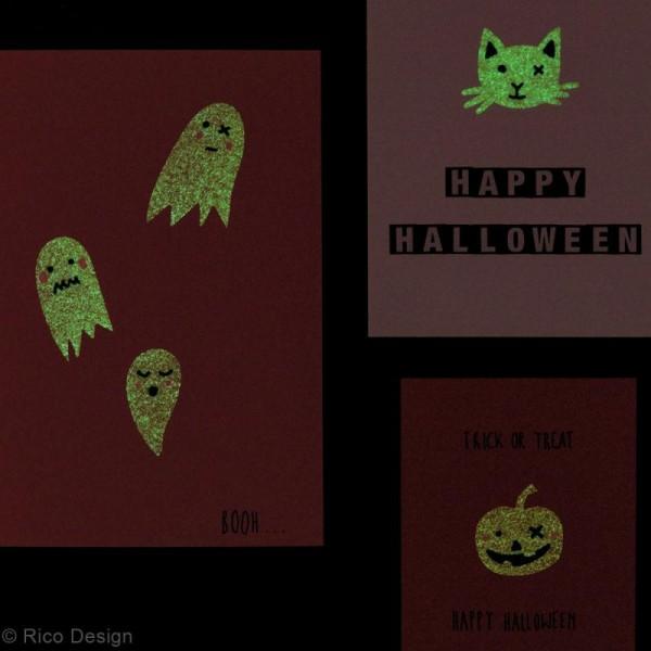 Stickers Papier Phosphorescent Rico Design - Chats noirs - 32 pcs - Photo n°2