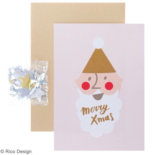 y compris Enveloppes 5 Personnalisé Noël Noël Merci cartes