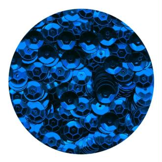Sequins 6mm Bleu x 500