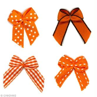 Noeud Recreatys Orange - Assortiment de 10 pièces