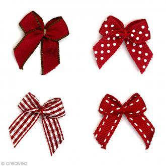 Noeud Recreatys Rouge - Assortiment de 10 pièces