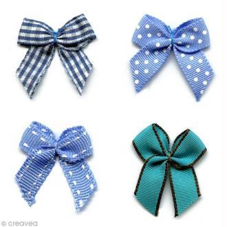 Noeud Recreatys Bleu - Assortiment de 10 pièces