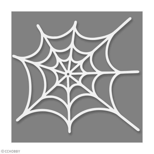 Toile d'araignée en papier - 19 x 21 cm - 16 pcs - Photo n°2